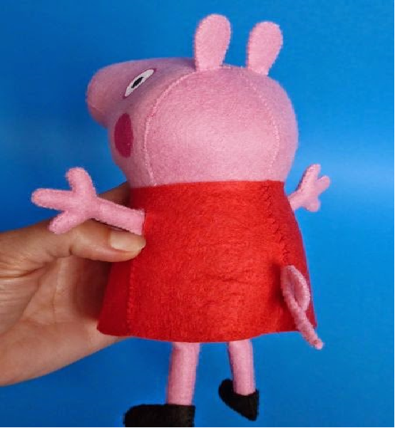 Peppa Pig Feltro sapato