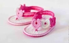 Sandalinha de Crochê Para Bebê – Passo a Passo