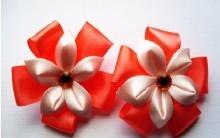 Flor de Cetim Para Elástico de Cabelo – Materiais e Como Fazer