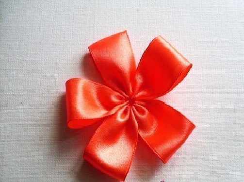 Flor de Cetim Para Elástico puxe