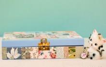 Caixa de Joias Decorada – Material e Passo a Passo