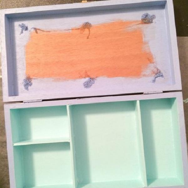 Caixa de Joias Decorada –  Material e Pinte
