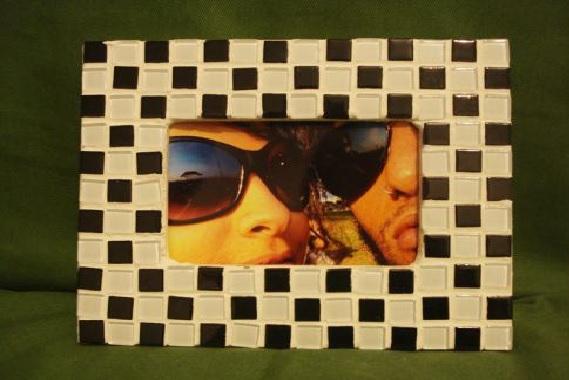Mosaicos em Porta-Retratos – Materiais  Como Fazer