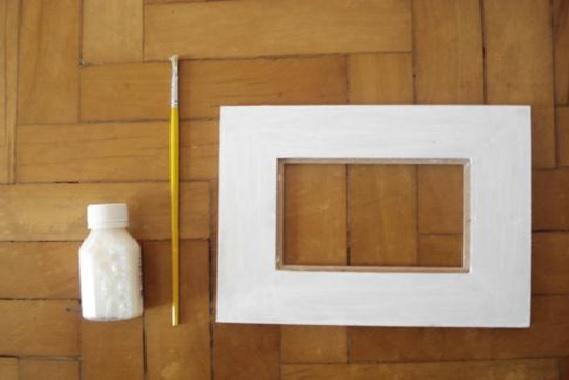 Mosaicos em Porta-Retratos ; Materiais  Como Fazer