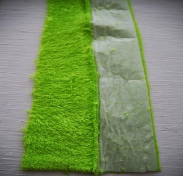 Pantufa  Divertida Para Criança Tecidos costura