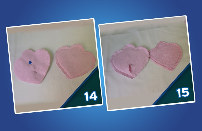 Peso de Porta Corujinha de Tecido -molde 14