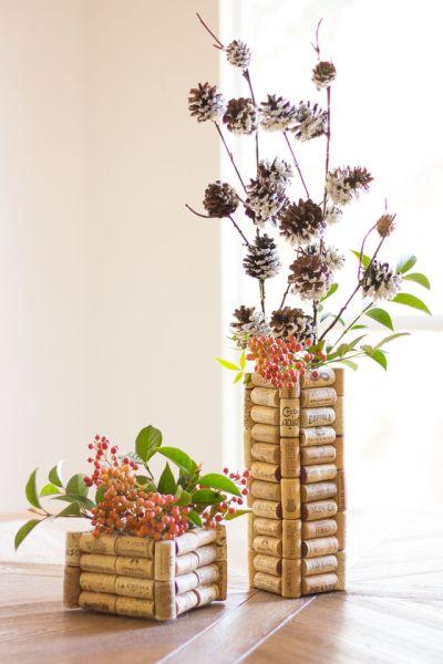 Vaso Customizado Com Rolhas de Cortiça – Material e Como Fazer