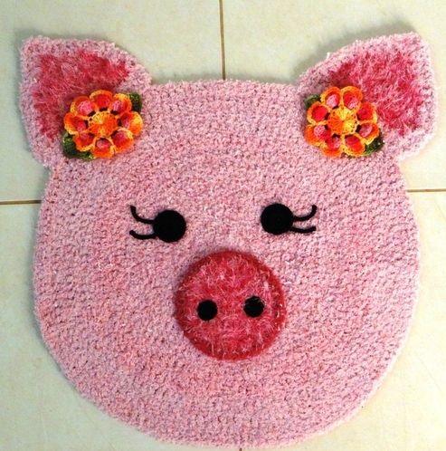 tapete porquinha