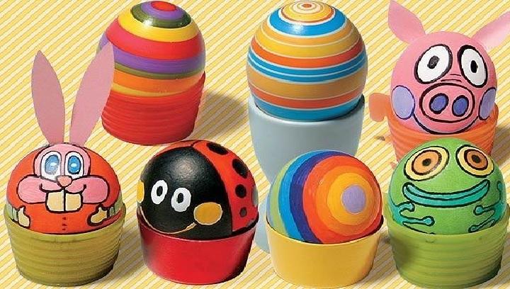 Como Pintar Ovos de Galinha