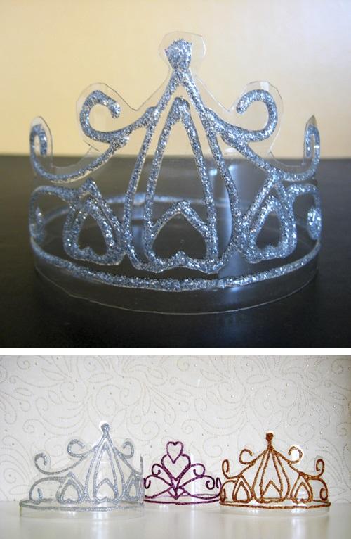 Coroa Infantil Feita de Garrafa Pet pet
