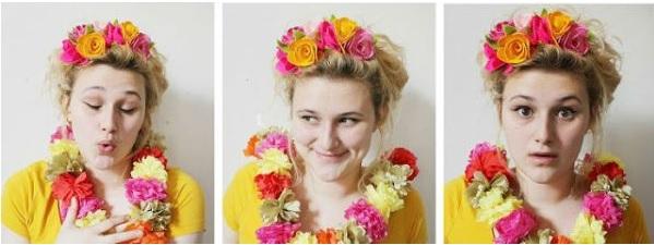 Arco de Cabelo Decorado Flores de Feltro - Como