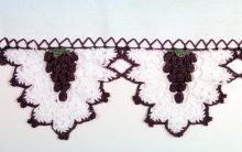 Bico Uva de Crochê – Como Fazer