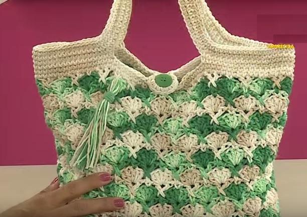 Bolsa Multiarte de Crochê– Material e Como Fazer