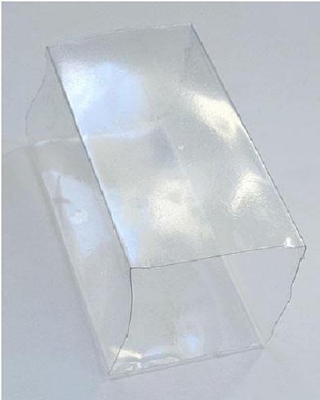 Caixa Presente de Garrafa pet Material e