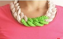 Colar Croche Em Cadeia – Modo de Fazer