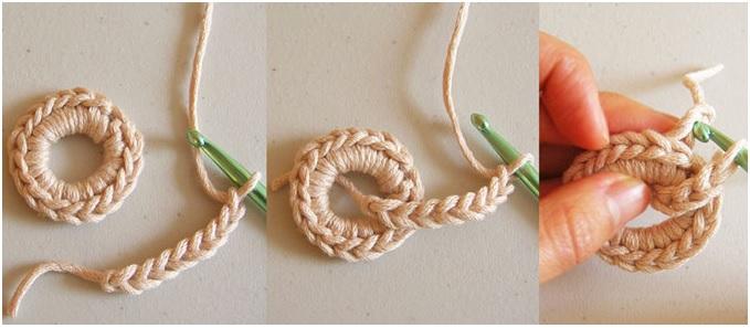 Colar Croche Em Cadeia – Modo tocida