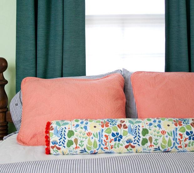 Travesseiro Rolo – Material e Passo a Passo