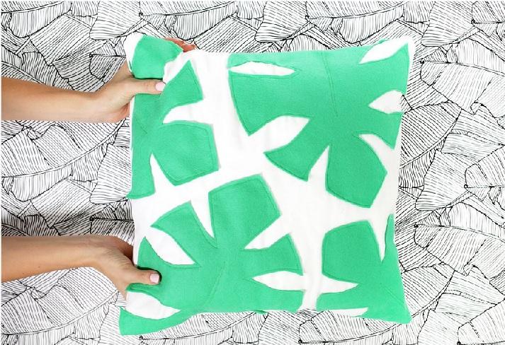 Almofada Decorada Com Feltro – Material e Como Fazer
