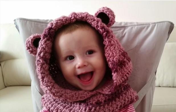 bd062c1f9171d Gola Capuz Infantil Em Crochê – Vídeo Explicativo