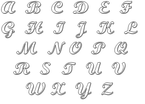Molde de Letras em Casa – Como Fazer