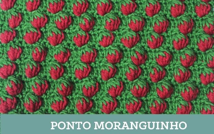 Ponto Croche Moranguinho - Como Fazer