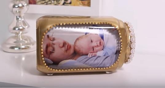Porta-Retrato de Pote de Vidro .Como Fazer Vídeo
