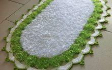 Tapete Decore Verde e Branco – Material e Execução