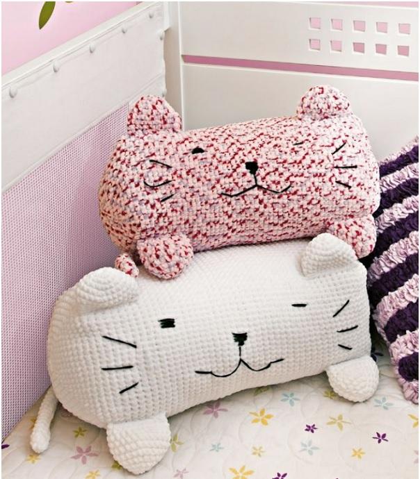 Almofada gato Trico