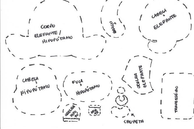 Guirlanda Porta Maternidade – Material - molde (2)