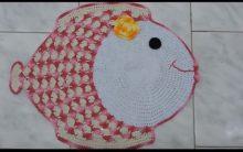 Tapete Peixinho Em Croche– Material e Gráfico
