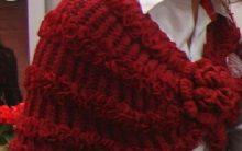 Pelerine Vermelha Em Tricô – Material e Como Fazer