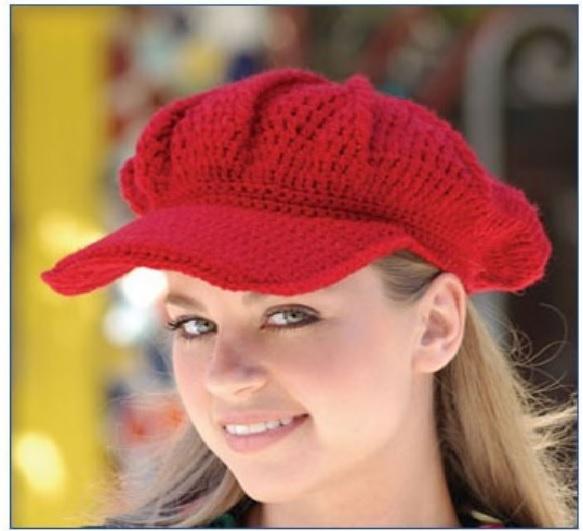 Boné Bardot Crochê – Gráfico e Como Fazer