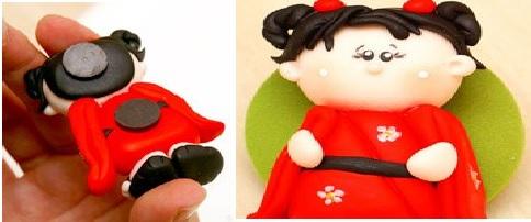 Bonequinha Japonesa Biscuit – Passo a Passo chine
