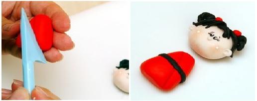 Bonequinha Japonesa Biscuit – Passo a Passo corpo