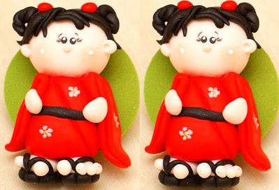 Bonequinha Japonesa Biscuit – Passo a Passo