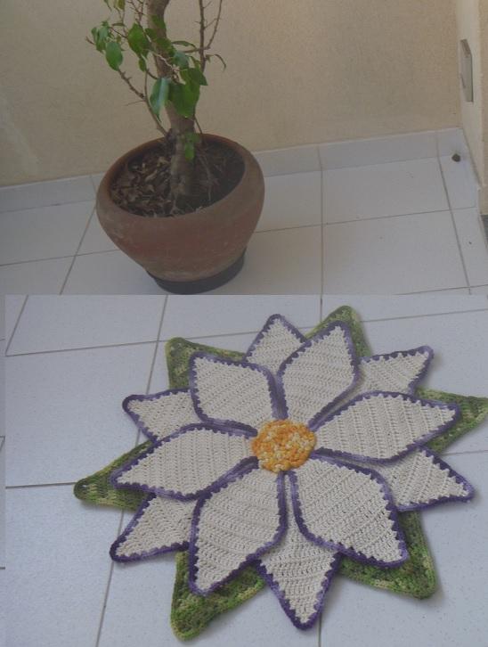 Tapete Flor Estrela – Material e Como