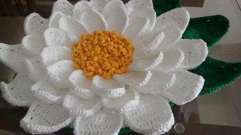 Toalha Mesa Margarida de Crochê – Como Fazer