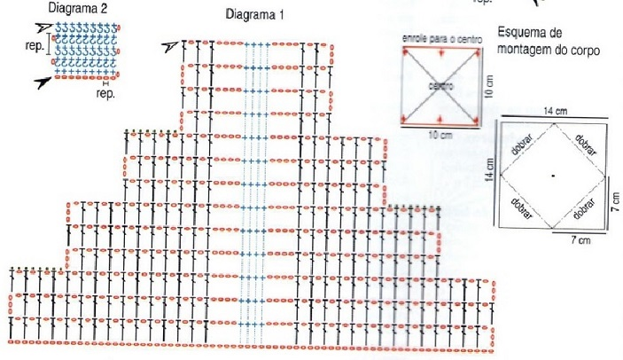 porta toalhas borboleta -diagrama 1