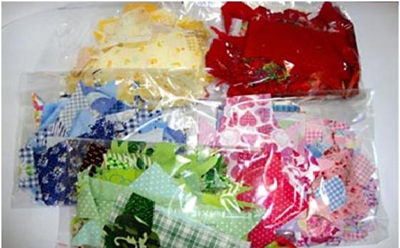 Almofada de Retalhos Colorido - Como guardar