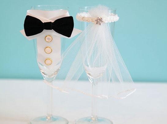 Taça Champanhe Decorada Para Casamento – Como Fazer