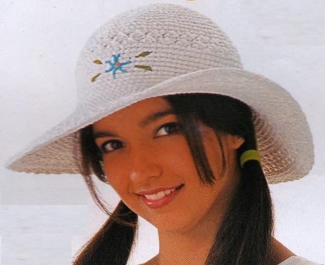 Chapéu de Praia Em Crochê – Como Fazer  b377481f5dc