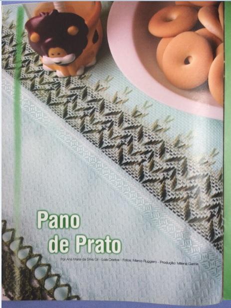 Bordado Vagonite de Pano de Prato – Material e Como Fazer