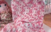 Saia e Blusa Infantil Em Crochê – Material e Como Fazer