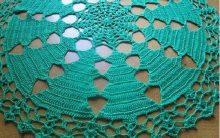 Toalha de Mesa Natal Crochê – Material e Como Fazer