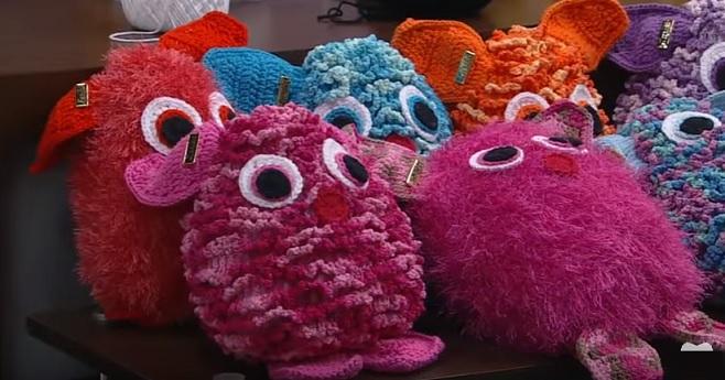bichinho Rick Em Crochê - Material e Como fazer
