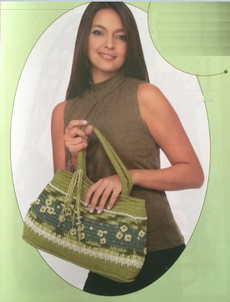 Bolsa Fashion Em Crochê – Material e Como Fazer