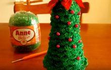 Arvore Natal Crochê Reciclado – Material e Como Fazer