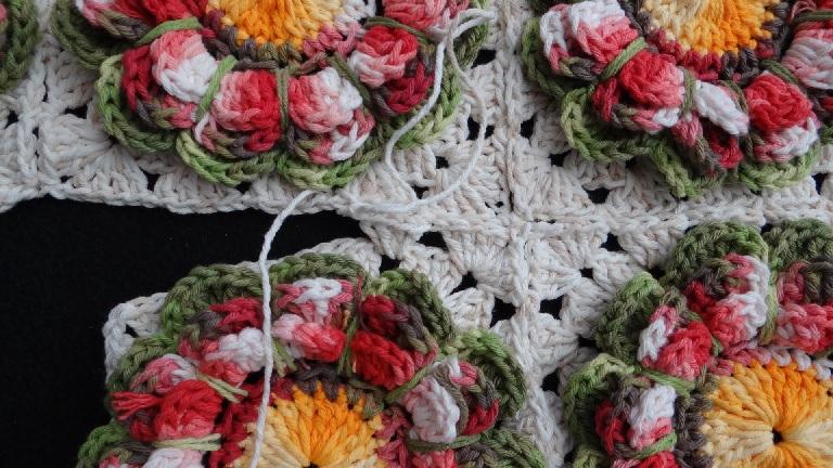 Como Unir Square Crochê – Passo a Passo