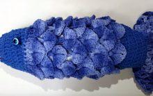 Peixe Puxa Saco Em Crochê – Material e Como Fazer