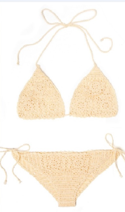 Biquíni Brisa Em Crochê – Material e Como Fazer